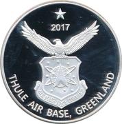 1 Dollar (Thule Air Base, Greenland) – avers