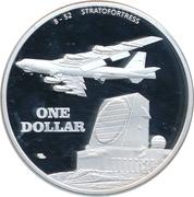 1 Dollar (Thule Air Base, Greenland) – revers