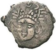 Æ incertain Chardmish (buste face à gauche; tamgha avec une crochet) – avers