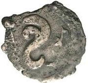 Æ incertain Chardmish (buste face à gauche; tamgha avec une crochet) – revers