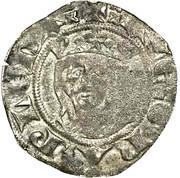 Denier à la Vierge - Évêchés de Valence et de Die - Guillaume de Roussillon – avers