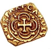 1 escudo Charles II – avers