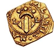 1 escudo Charles II – revers