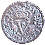 1 seiseno Philippe V – revers