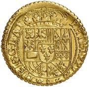 4 escudos Philippe V Valence – avers