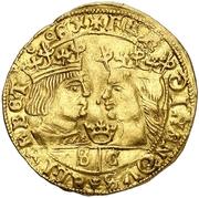 ½ ducado Ferdinand II F – avers