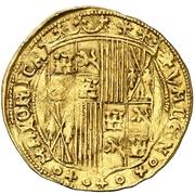 ½ ducado Ferdinand II F – revers