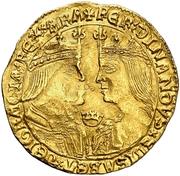 2 Ducados Ferdinand et Isabelle – avers