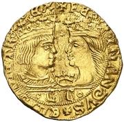 1 Ducado Ferdinand et Isabelle CC – avers