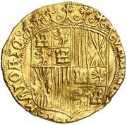 1 Ducado Ferdinand et Isabelle CC – revers