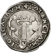 2 reales Charles I -  revers