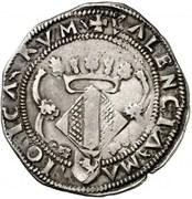 2 reales Charles I – revers