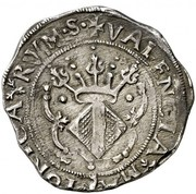 4 reales Charles I – revers