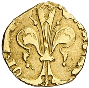 ½ florin Pierre IV – revers