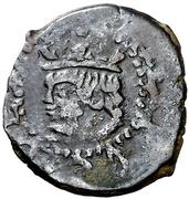 Dinero Philippe IV – avers