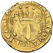 2 coronas Charles I -  avers