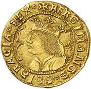 2 ducados Ferdinand II – avers
