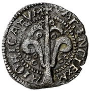 Dinero Ferdinand II – revers