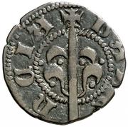 Dinero Alphonse V – revers