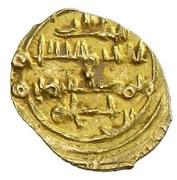 Fractional Dinar - 'Abd al-'Aziz al-Mansur - 1021-1061 AD (Amirid of Valencia) – revers