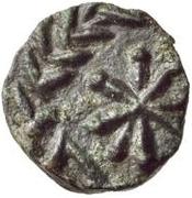 1 nummus Gunthamund / Au nom de Inscription Dégradée – revers