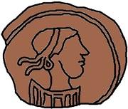 1 nummus Godas (sans inscription) – avers