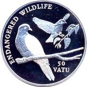 50 vatu (Faune en danger) – revers