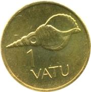1 vatu – revers