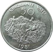 50 vatu (Indépendance) – revers