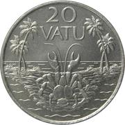 20 vatu – revers