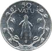50 vatu – revers