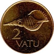 2 vatu – revers