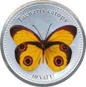 10 Vatu (Taenaris Catops) – revers