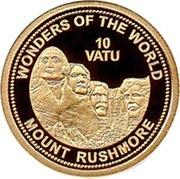 10 Vatu (Mont Rushmore) – revers