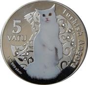 5 vatu (angora turc) – revers