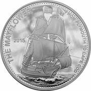 20 vatu (Mayflower) – revers