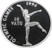 10 vatu Jeux olympiques Atlanta 1996 (gymnastique) – revers
