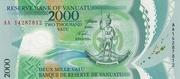 2000 Vatu – avers