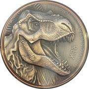 10 Vatu (Tryannosaurus Rex) – revers