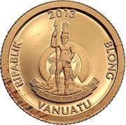 20 vatu (Homme de Vitruve) – avers