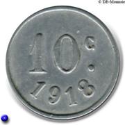10 centimes - Comité Municipal d'Approvisionnement - Vanves [92] – revers