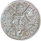 5 centesimi Pie XI – avers