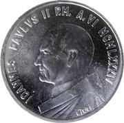 1000 lires Jean Paul II -  avers
