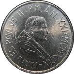 50 lires Jean Paul II -  avers