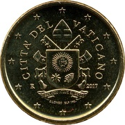 50 cents d'euro François (2e type) -  avers