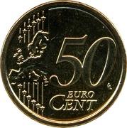 50 cents d'euro François (2e type) -  revers