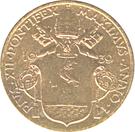 10 centesimi Pie XII – avers