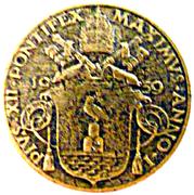 5 centesimi Pie XII – avers