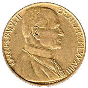 200 lires Jean Paul II -  avers