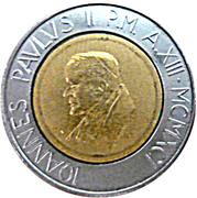 500 lires Jean Paul II -  avers